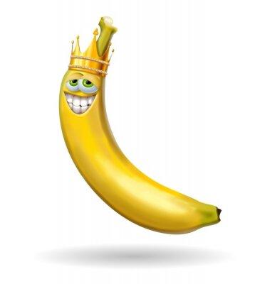 Наклейка Re банан
