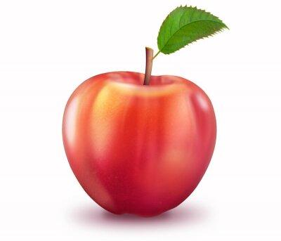 Наклейка Reifer Apfel, freigestellt
