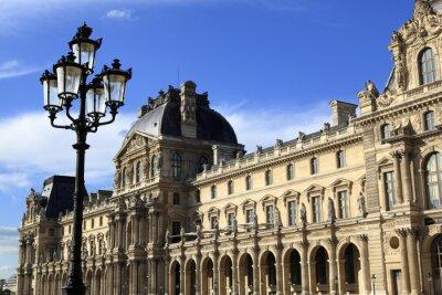 Наклейка Ренессанса в Лувр, Париж