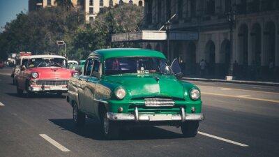Наклейка Retro: Олдтаймер Havanna | Kuba