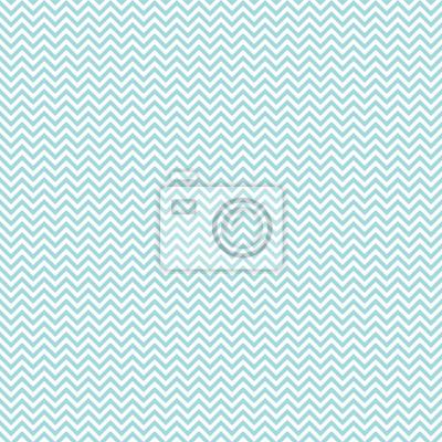 Наклейка Ретро бесшовные модели Мини Chevron Turquoise