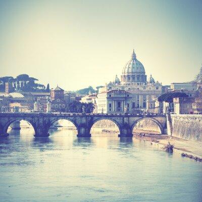 Наклейка Рим
