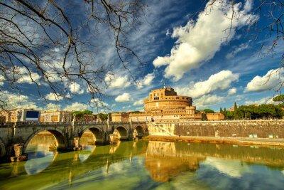 Наклейка Рим - Castel Saint Angelo, Италия