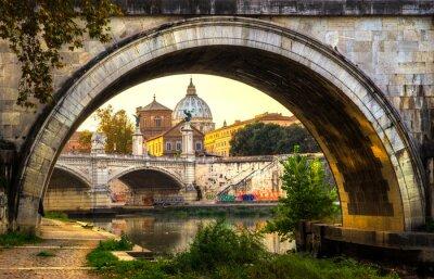 Наклейка Рим, Италия.