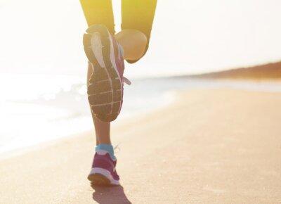 Наклейка Running on the beach