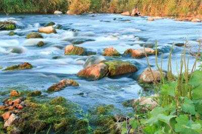 Наклейка Поспешное река