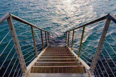 Наклейка Расти ступенька к глубоком море