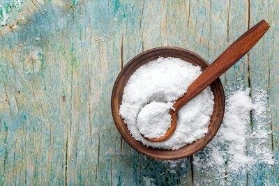 Наклейка поваренная соль