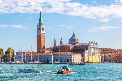 Наклейка Сан - Джорджио остров в Венеции, Италия