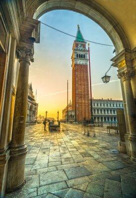 Наклейка Сан - Марко, Венеция, Италия