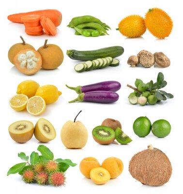 Наклейка Santol, морковь, горох, грибы, кабачки, лимон макадамии, сос