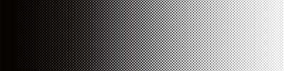 Наклейка Screentone Graphics_Halftone Gradation_Black