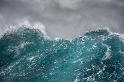 Наклейка морская волна