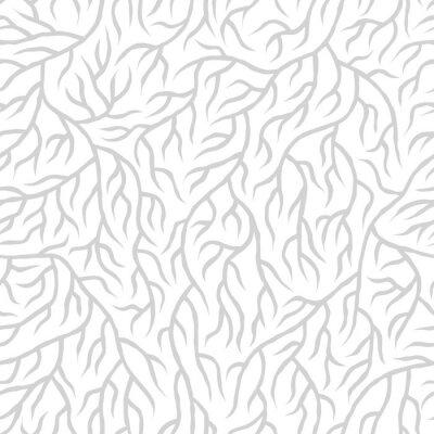 Наклейка Seamless nature pattern
