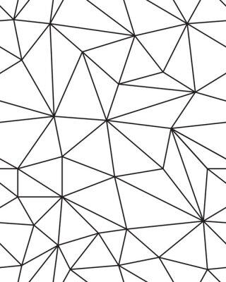 Наклейка Бесшовная текстура геометрической сетки