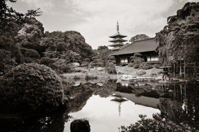 Наклейка Храм Сэнсодзи