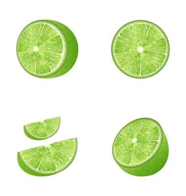 Наклейка Набор Fruit Lime