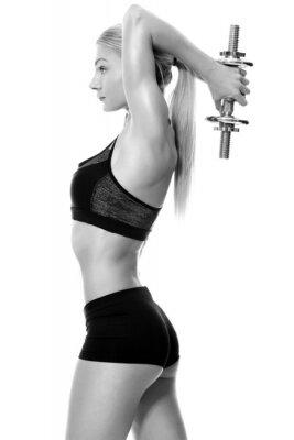 Наклейка Сексуальные и подходят ручные весы женщина подъемные