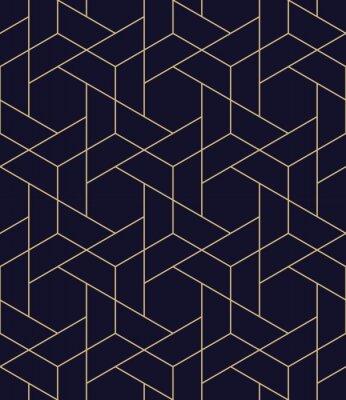 Наклейка простой бесшовный геометрический вектор сетки