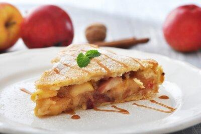 Наклейка Кусочек домашнего яблочного пирога