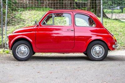 Наклейка маленький автомобиль / маленький красный автомобиль