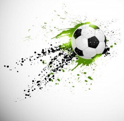 Наклейка Дизайн футбол