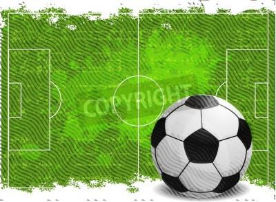 Наклейка Футбол дизайн