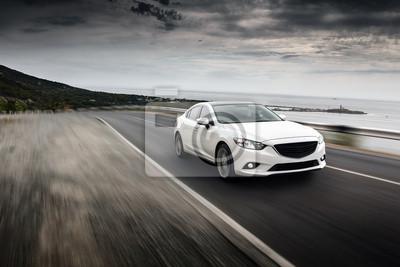 Наклейка Скорость автомобиля