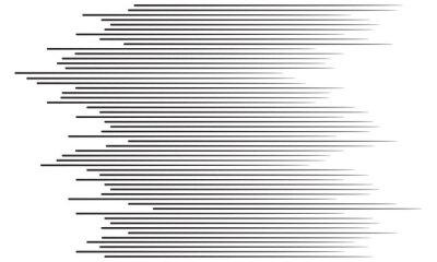 Наклейка Скорость линии фона