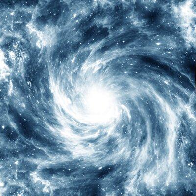 Наклейка Спиральная галактика