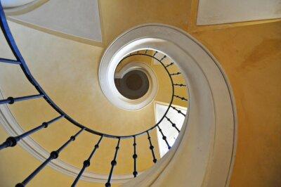 Наклейка Винтовые лестницы архитектурный элемент исторического здания