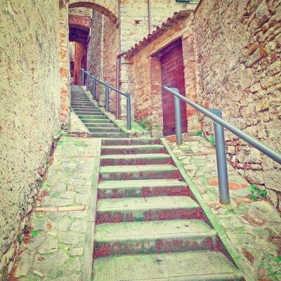 Наклейка лестница
