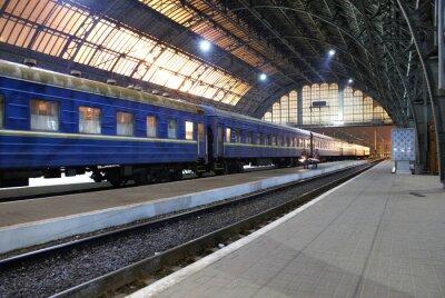 Наклейка Станция Львов