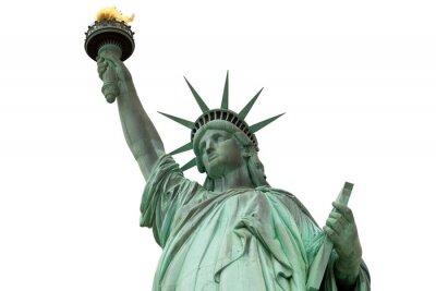 Наклейка статуя Свободы