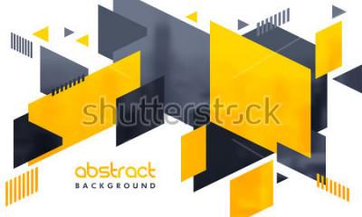 Наклейка Креативный абстрактный дизайн оформлен фон.