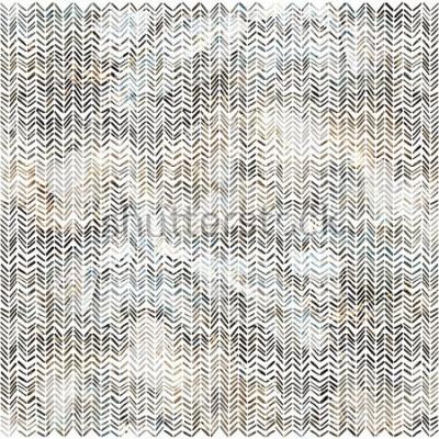 Наклейка Акварель зигзагообразный шеврон рисунок современный