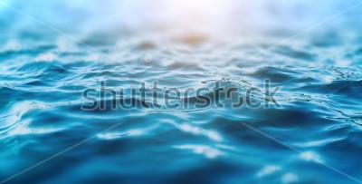 Наклейка ocean water background
