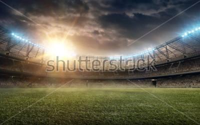 Наклейка soccer field