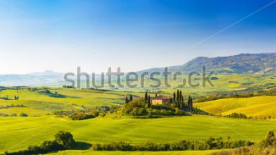 Наклейка Beautiful landscape in Tuscany, Italy