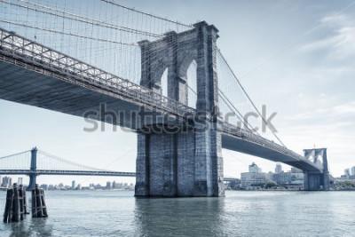 Наклейка brooklyn bridge in new york