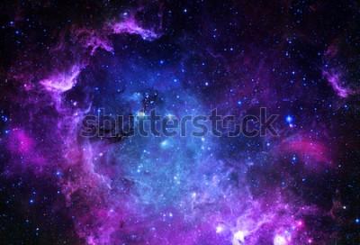 Наклейка Звездное поле - элементы этого изображения предоставлены НАСА