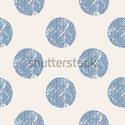 Наклейка точки / рука нарисованные вектор бесшовные модели / мода / птицы / могут быть использованы для дизайна рубашки ребенка или ребенка / дизайн моды печати / графика моды / футболка / детская одежда / тро