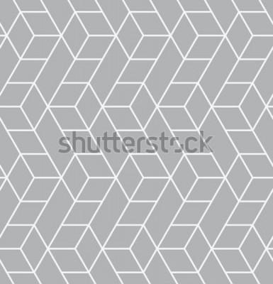 Наклейка Вектор бесшовные модели Современная стильная текстура. Повторяя геометрические плитки с треугольниками.