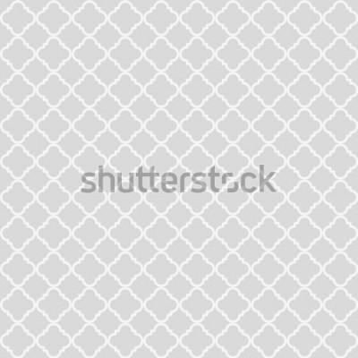 Наклейка Геометрическая абстрактный бесшовный паттерн. Классический фон. Векторная иллюстрация
