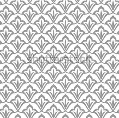 Наклейка Орнамент Арабский бесшовные модели. Марокканский фон.