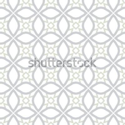 Наклейка Абстрактная текстура предпосылки в геометрическом орнаментальном стиле. Бесшовная конструкция.