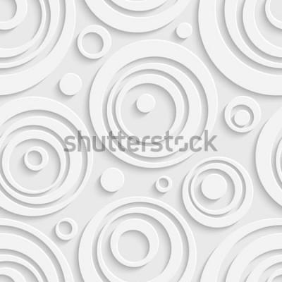 Наклейка Бесшовные круги шаблон