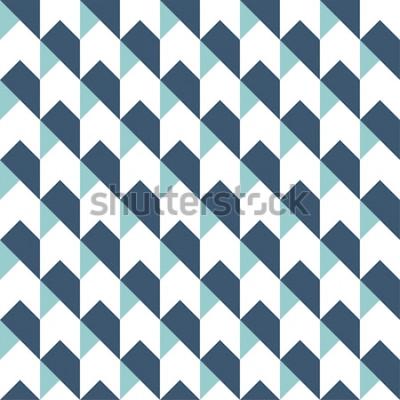 Наклейка Геометрическая абстрактный бесшовный фон фон, геометрический фон, рисунок стрелки, шеврон рисунок