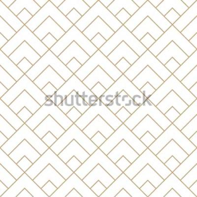 Наклейка геометрическая алмазная плитка минимальный графический векторный рисунок
