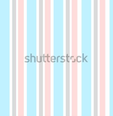 Наклейка Абстрактный вектор геометрический фон. Вертикальный полосатый. Печать для дизайна интерьера и ткани